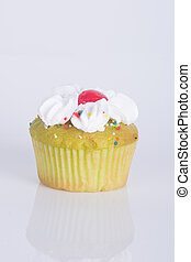 cupcake. cup cake on the background