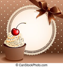 cupcake, fondo
