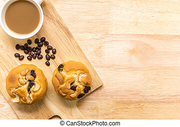 Cupcake for Coffee Break / Cupcake for Coffee Break Background