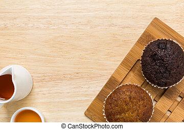 Cupcake for Tea Break / Cupcake Background
