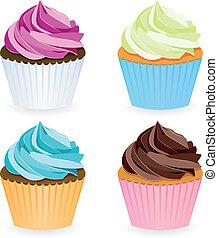 cupcake, gyűjtés