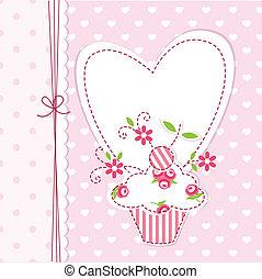 cupcake, hintergrund