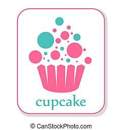 cupcake, ikona