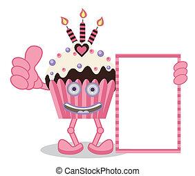 Cupcake Pink Banner
