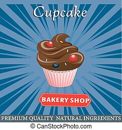 cupcake poster design