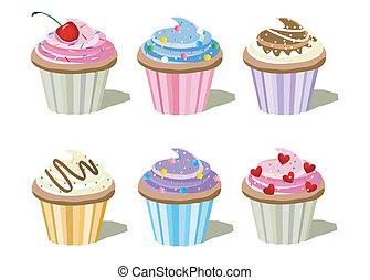 cupcake, set