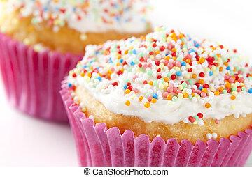 Cupcake with Sprinkles