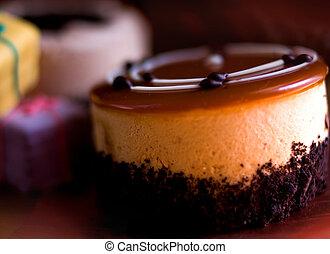 cupcake, y, postres