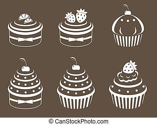 cupcakes, セット