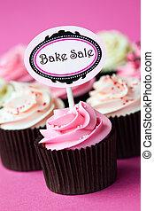 cupcakes, ベークセール