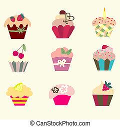 cupcakes, 空想