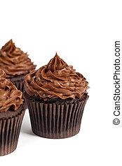 Cupcakes,  chocolate