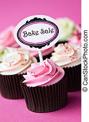 Cupcakes for a bake sale - Bake sale cupcakes