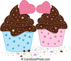 cupcakes, konstruktion