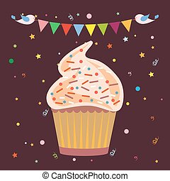 Cupcakes Pastry Shop Logo - Chocolate Cupcakes with...