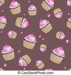 Cupcakes seamless