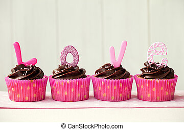 cupcakes, valentine