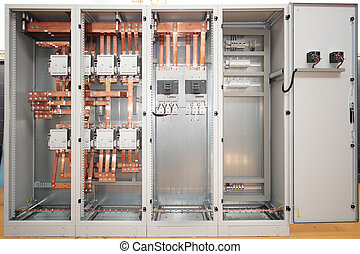 Cuper electrical switchboard - Electrical power switchboard...