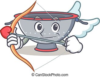 Cupid colander utensil character cartoon
