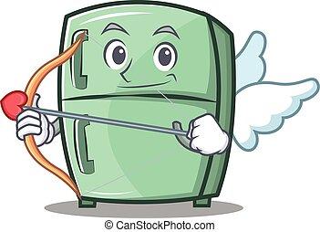 Cupid cute refrigerator character cartoon