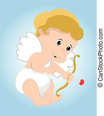 Cupid - colourfull