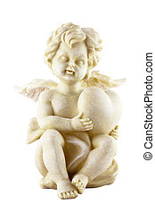 Cupid isolated on white