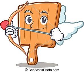 Cupid kitchen board character cartoon