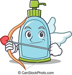 Cupid liquid soap character cartoon
