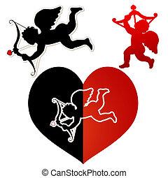Cupid silhouette