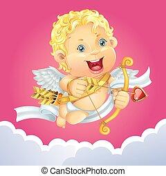 Cupid with arrows