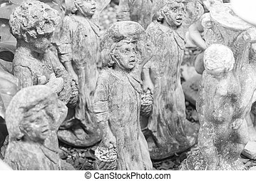 cupido, scultura