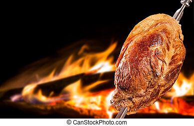 Cupim, traditional Brazilian barbecue.