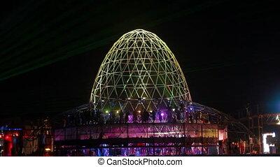 Cupola at Kazantip - Cupola at the annual festival Kazantip...