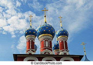 Cupola Church of Dimitry on the Blood in Uglich