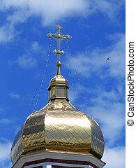 cupola, croce