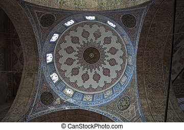 Cupola of Blue mosque in Istanbull