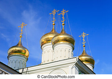 Cupola of John the Baptist church, Nizhny Novgorod, Russia