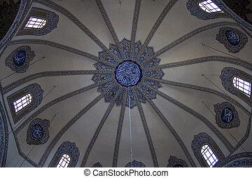 Cupola of little Hagia Sofia mosque in Istanbul, Turkey