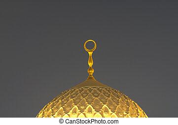 Cupola of the Jumeirah Mosque, Dubai United Arab Emirates