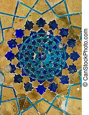 cupola, uzbekistan, orientale, moschea, ornamenti, bukhara