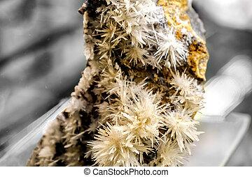 cupriferous,  mineral,  aragonite