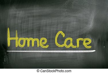 Cura casa caregiver casa donna senior lei immagini d for Aprire piani casa concetto