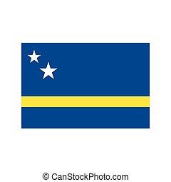 Curacao flag illustration - Curacao flag on the white ...