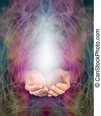 curación, energía