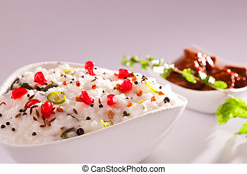 Curd Rice from South India. - Curd Rice - A Rice mixed with...