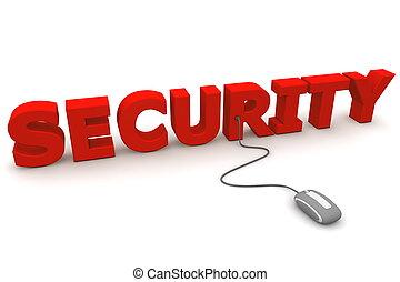 curiosare, -, grigio, sicurezza, topo, rosso