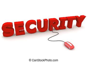 curiosare, -, sicurezza, topo, rosso
