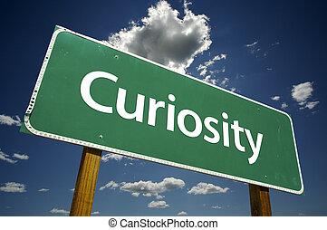 curiosidad, muestra del camino