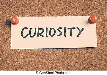 curiosidad