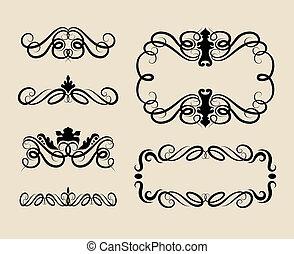 Curl Ornament Decorations